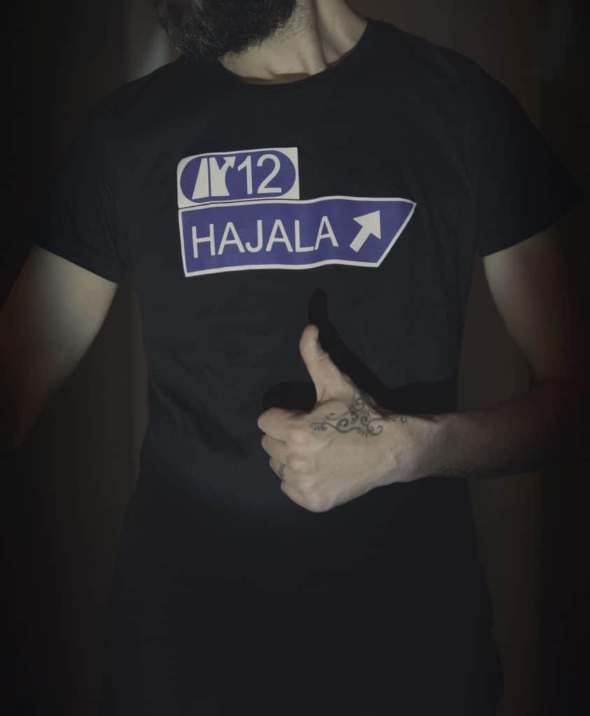 Hajala T-paita