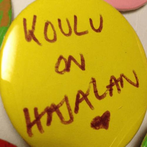 Koulu on Hajalan sydän